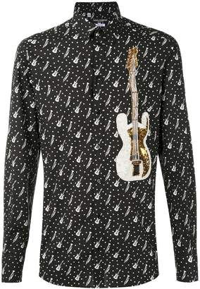 Dolce & Gabbana musical patch shirt