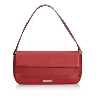 549b43cf9e20 Burberry Burgundy Leather Handbags - ShopStyle