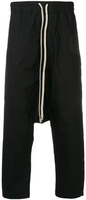 Rick Owens drop crotch trousers