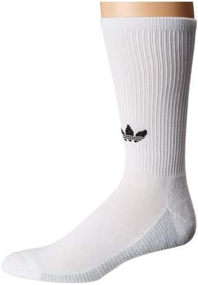 adidas Originals 3-Stripe Statement Single Crew Sock Men's Crew Cut Socks Shoes