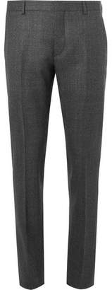 Prada Grey Slim-Fit Mélange Wool Suit Trousers