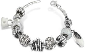 Nuovegioie Tedora Sterling Silver Milan Charm Bracelet