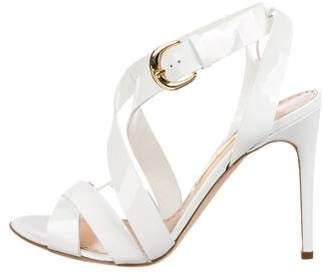 Rupert Sanderson Patent Leather Multistrap Sandals w/ Tags