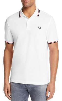 Fred Perry Tipped Logo Regular Fit Polo Shirt