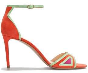 502e1206b03 Nicholas Kirkwood Color-block Suede Sandals