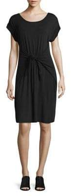 Jones New York Front Self-Tie T-Shirt Dress