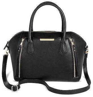 Mossimo Women's Solid Satchel Faux Leather Handbag with Removable Crossbody Strap - M... $39.99 thestylecure.com