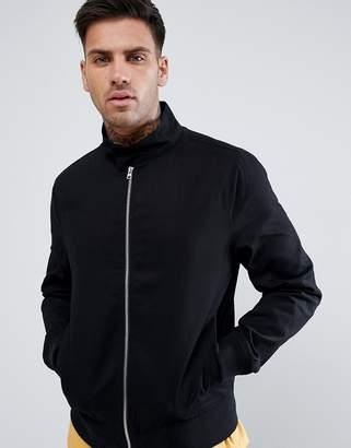New Look Harrington Jacket In Black