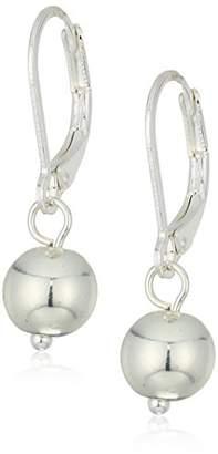 Chaps Women's Classic Ball Drop Leverback Drop Earrings