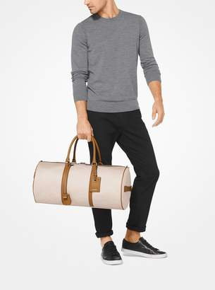 Michael Kors Billy Canvas Duffel