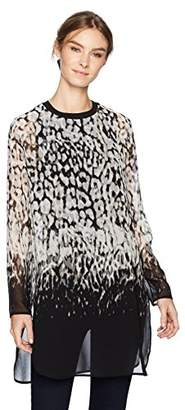 Calvin Klein Women's Printed Long Tunic