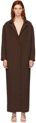 Jacquemus Brown Le Manteau Almar Coat