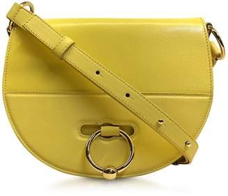 J.W.Anderson Flap Top Leather Latch Bag W/shoulder Strap