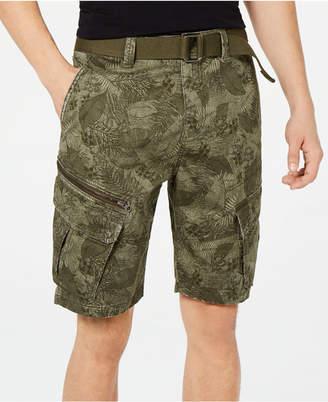 "American Rag Men's Leaf Print 10"" Cargo Shorts"