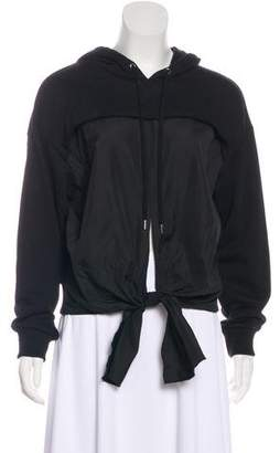 3.1 Phillip Lim Knot Accent Hooded Sweatshirt