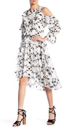 Joie Alpheus Cold Shoulder Hi-Lo Dress