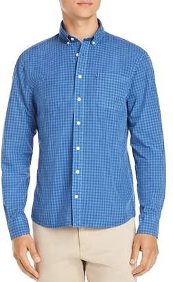 Johnnie-O Aaron Gingham-Print Regular Fit Button-Down Shirt