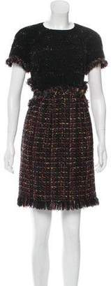 Chanel Wool Bouclé Dress