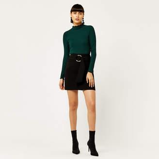 Warehouse O Ring Mini Skirt