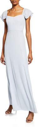 WAYF The Rachel Gored Maxi Gown