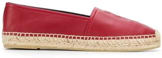Saint Laurent embossed espadrilles