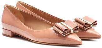 Salvatore Ferragamo Zeri patent leather ballet flats