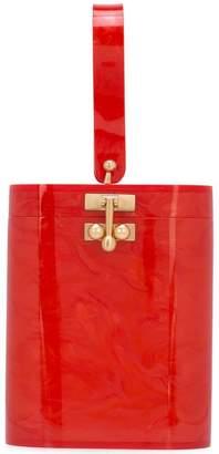 Edie Parker mini bucket bag
