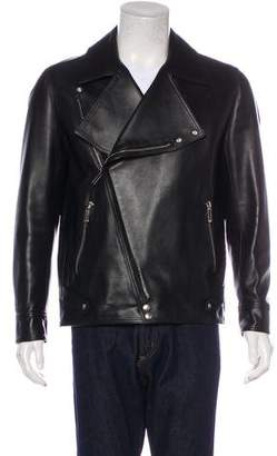 Christian Dior Leather Moto Jacket