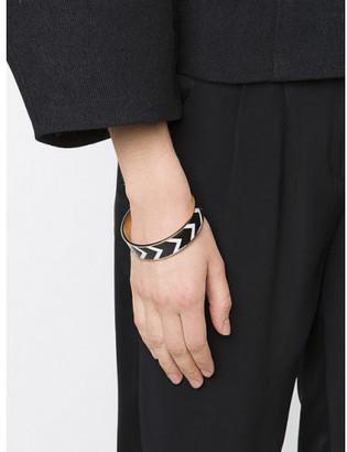 Givenchy chevron pattern bracelet $720 thestylecure.com