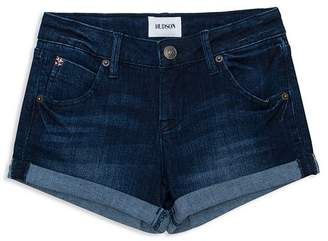 Hudson Girls' Rolled Denim Shorts - Little Kid