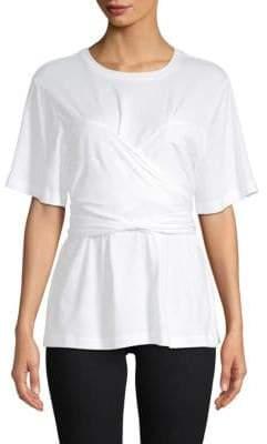 Proenza Schouler Self-Tie Cotton Top