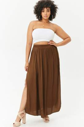 Forever 21 Plus Size Relaxed Maxi Skirt