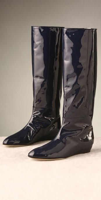 Loeffler Randall Matilde Flat Wedge Patent Boot