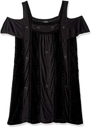 Lucky Brand Women's Embellished Knit Dress