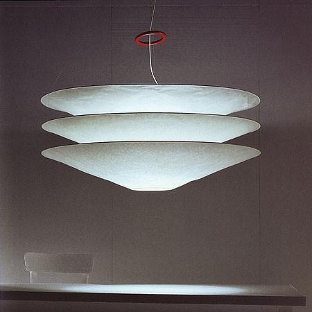 Ingo Maurer - floatation suspension lamp by ingo maurer