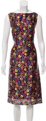 Dries Van Noten Silk Sleeveless Dress