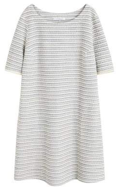 MANGO Violeta BY Textured jacquard dress