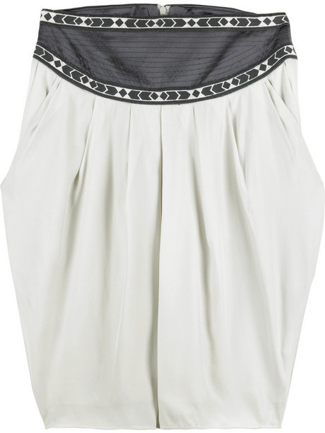 Thurley Arrow trim tulip skirt