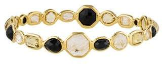 Ippolita 18K Rutilated Quartz, Citrine & Onyx Bangle