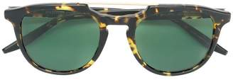 Barton Perreira tortoiseshell double top bar sunglasses