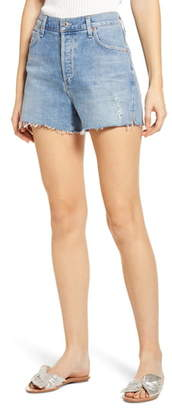 Citizens of Humanity Marlow High Waist Easy Denim Shorts