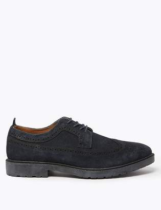 Marks and Spencer Suede Heavyweight Brogues