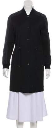 Callens Woven Knee-Length Coat