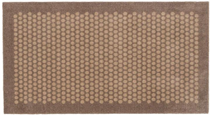 tica copenhagen - Dot Fußmatte, Sand, 67 x 120 cm