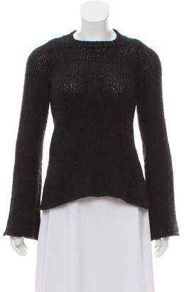 Hache Wool and Fur Blend Sweater
