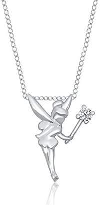 Enchanted Disney Fine Jewelry Women 9ct (375) White Gold Diamond Pendant PDO3919W9QDSAU