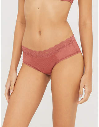 Passionata Brooklyn stretch-mesh hipster briefs