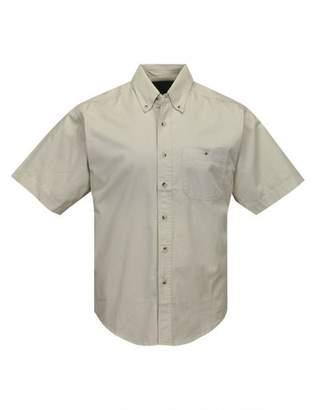 A&E Designs Tall Director Short Sleeve Button Down Shirt