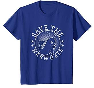 Save The Narwhals Unicorn Of The Sea T Shirt