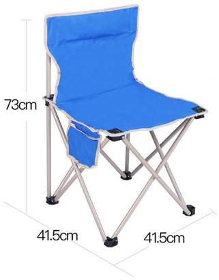 GFL-Chairs Outdoor Folding Chair Portable Camping Beach Fishing Chair Painting Chair (A+++) (Color : , Size :)